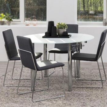 Barney Glass Dining Table