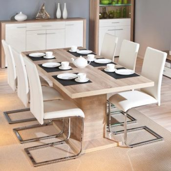 Compo Extendable OAK Dining Table