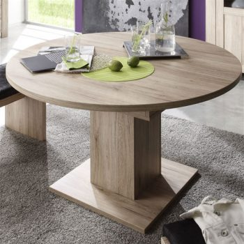 Oliver Round Extendable Table