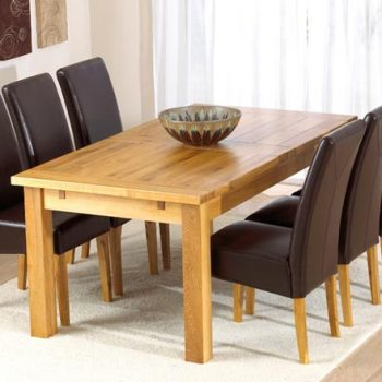 Rustique Extending Dining Table