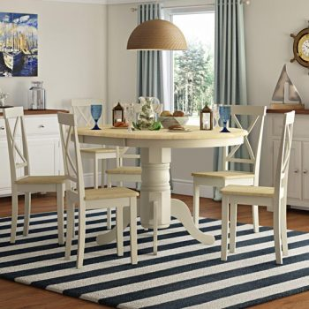Bartett Extendable Dining Table + 6 Chairs