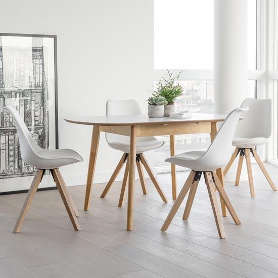 dean extendable dining set